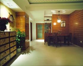 东南亚风格餐厅装饰效果图