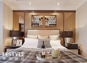 2013卧室床头背景墙装饰效果图