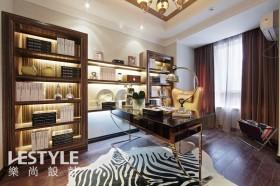 欧式风格家居书房装饰效果图