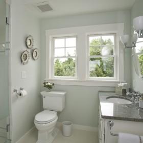 4平米卫生间浴室柜效果图