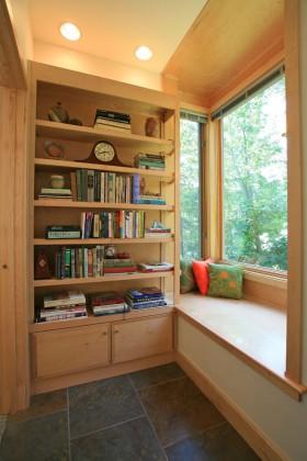書房書架書房飄窗裝修效果圖大全2014圖片