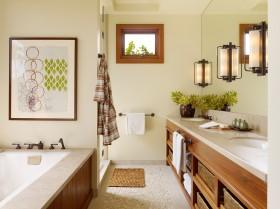 卫生间浴室柜设计效果图