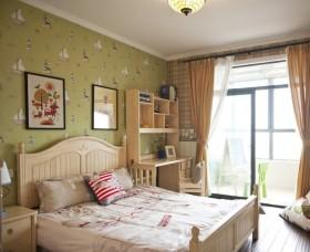最新田园风格卧室装修效果图片