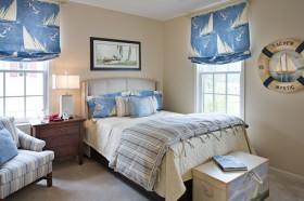 卧室床头软包装饰装潢效果图