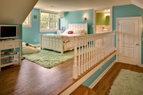 欧式卧室木地板装修效果图