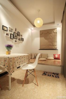 小户型餐厅照片背景墙设计