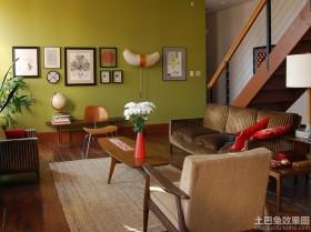 小客厅照片背景墙效果图