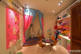 女儿童房间装修效果图