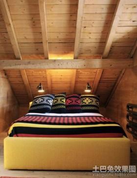 阁楼小卧室设计效果图片