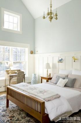 别墅卧室实木家具图片