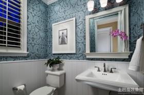 卫生间壁纸设计效果图片