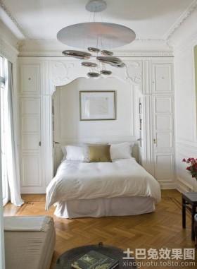 空间欧式风格欧式卧室木地板装修效果图大全