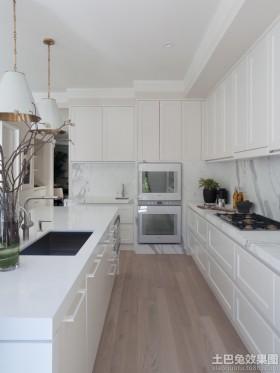 简欧整体橱柜厨房装修效果图欣赏
