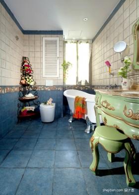 地中海风格卫生间装修效果图片