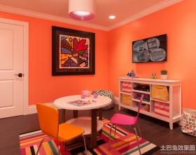 儿童房颜色装修效果图