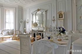 白色欧式家具图片大全
