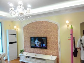 二居室客厅电视背景墙装修效果图大全