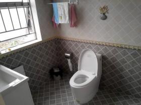 田园卫生间装修效果图欣赏