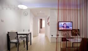 小户型餐厅客厅家庭装修效果图