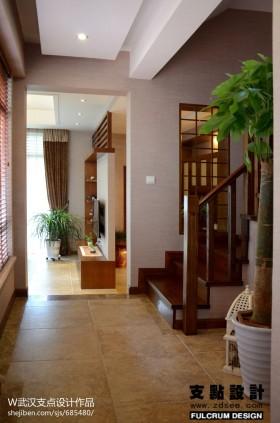 现代风格过道地板装修设计
