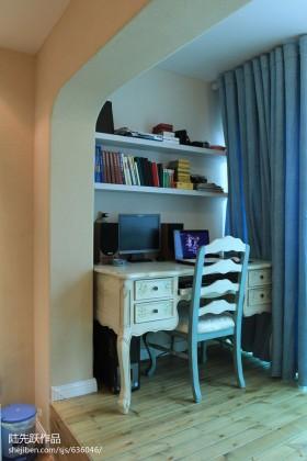 地中海风格书房装修效果图大全2013