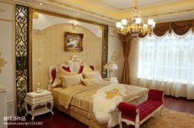 奢华欧式卧室装修效果图欣赏