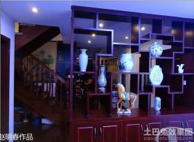 客厅博古架装修效果图欣赏