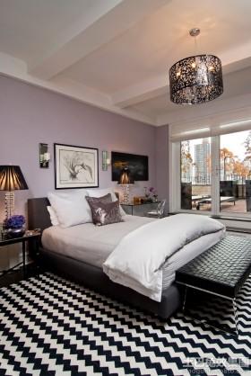 2013现代风格主卧室装修效果图