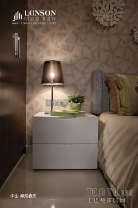 卧室床头灯效果图