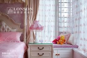 卧室飘窗窗帘效果图图片