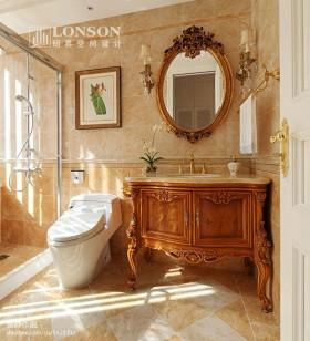 美式风格卫生间美式卫生间洗手台装修效果图