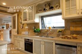 2013美式厨房装修效果图