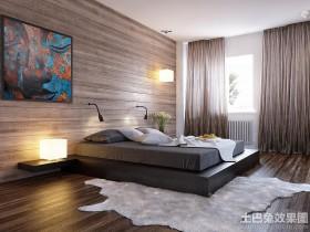 现代卧室榻榻米装修效果图大全2013图片