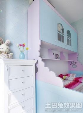 现代小清新儿童房装修效果图