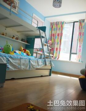 田园风格儿童房装修效果图图片