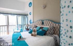 地中海卧室背景墙设计