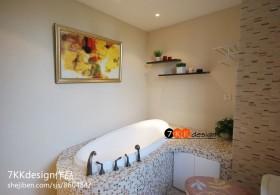 卫生间马赛克瓷砖效果图欣赏