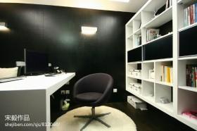 现代简约书房设计装修效果图