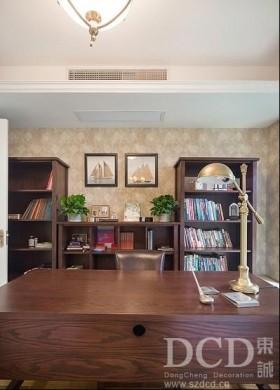 欧式书房书柜装修效果图欣赏