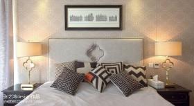 主卧室床头软包图片