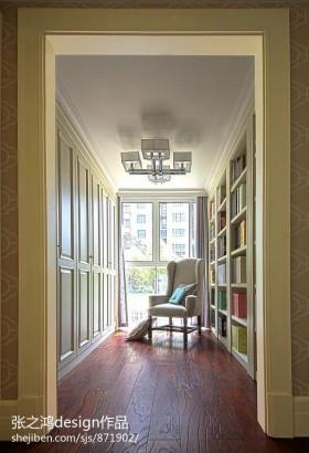 欧式风格书房欧式整体小书房装修效果图