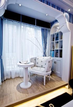 休闲区窗帘装修效果图欣赏