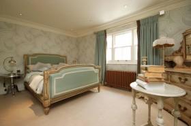 卧室床头壁纸窗帘效果图欣赏