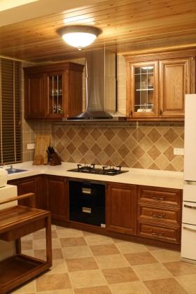 东南亚风格厨房橱柜效果图