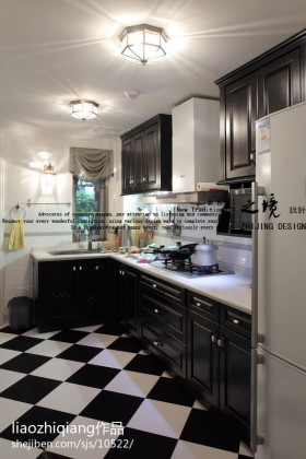 厨房橱柜装修效果图大全2016图片_厨房橱柜装修设计图