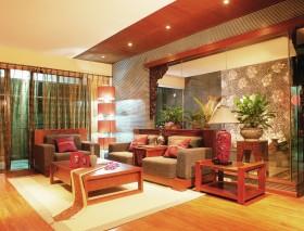 东南亚风格客厅装修效果图大全