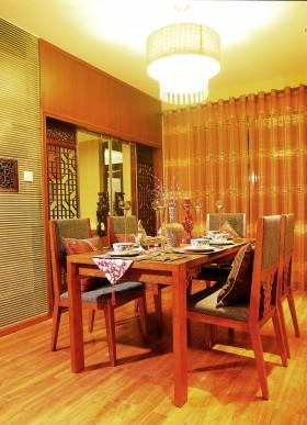 东南亚风格餐厅效果图欣赏