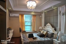 欧式卧室飘窗装修效果图片大全