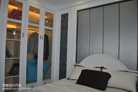 欧式卧室衣柜装修效果图