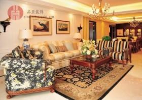 美式客厅沙发背景墙效果图大全